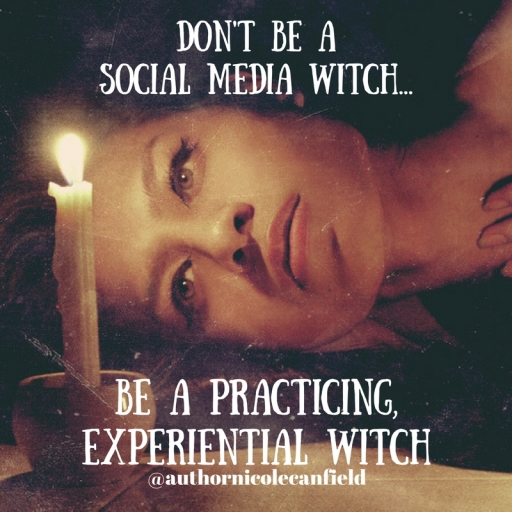 Don't be a social media witch...